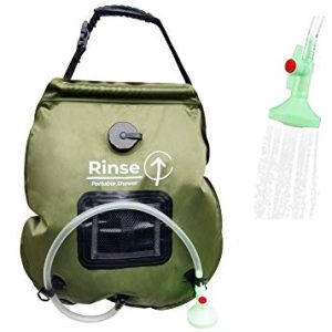 Long Hose Portable Shower for Camping 5 Gallon