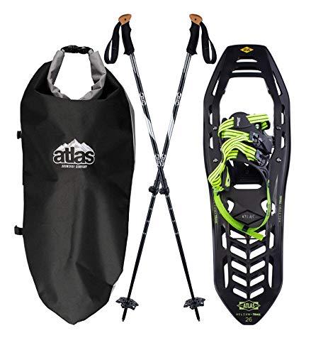 Black/Bright Green Snowshoes Helium-Trail Kit