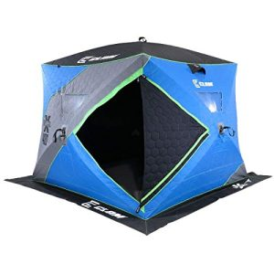 Portable 4 to 6 Person 8 Foot Pop Up Ice Fishing Angler