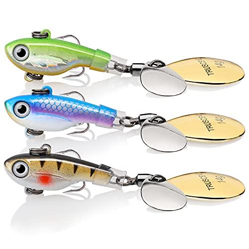 Fishing Lures Rotating Tail Spinner Jigs Swimbaits