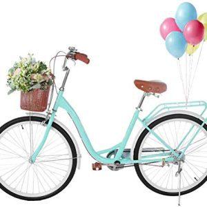 Complete Cruiser Bikes, 26 Inch Beach Bike for Women