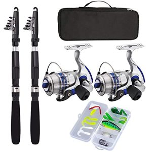 Kit Fishing Rod Reel Combos Fishing Pole Combo Set