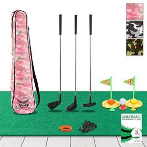 Premium Kids Golf Clubs 3-5 - Kids Golf Set