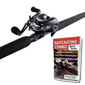 Tailored Tackle Bass Fishing Baitcasting Combo