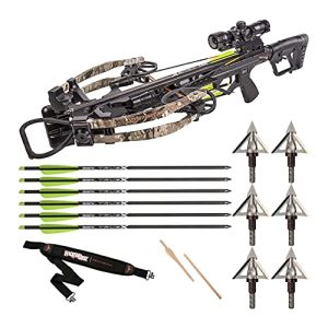 Hunting Bundle with Xbow Scope, Bows, Broadhead and Sling
