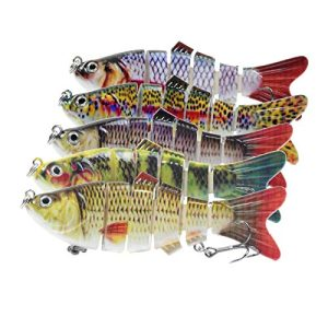 Freshwater Saltwater Lure Baits Kit Bass with Loud Fake Bait
