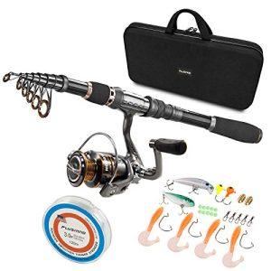 Telescopic Fishing Rod and Reel Combos Full Kit