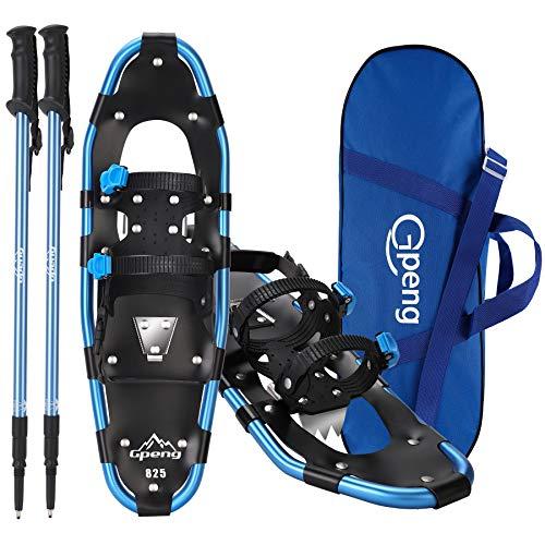 Lightweight Terrain Snow Shoes for Women Men Youth Kids