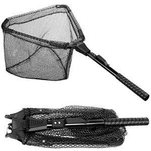 Safe Fish Foldable Collapsible Fishing Landing Net