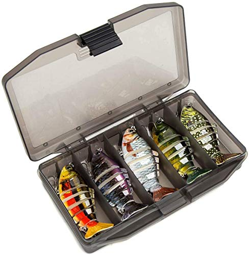 Fishing Lures Baits for Bass Multi Jointed Swimbaits
