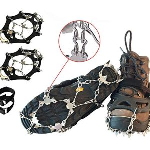 Shoe Grips Snow & Ice Traction Cleats Large