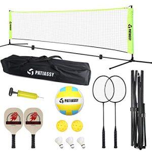 Portable Indoor Outdoor Pickleball Volleyball Badminton