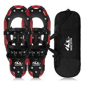 Lightweight All Terrain Snowshoes Adjustable Ratchet