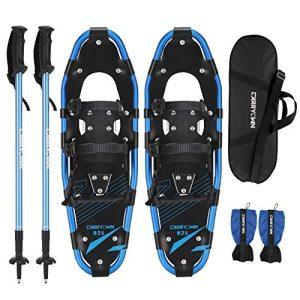 Xtreme Lightweight Terrain Snowshoes for Adults Men Women Kids