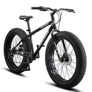 Mongoose Malus Adult Fat Tire Mountain Bike