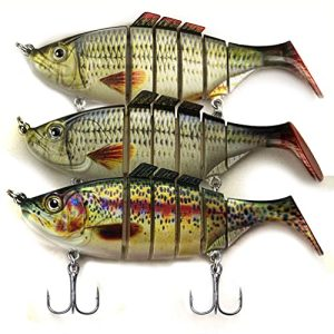 Bionic Fishing Lures for Bass Trout Multi Jointed Swimbaits