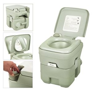20L Flush Porta Potti Outdoor Indoor Travel Camping Portable