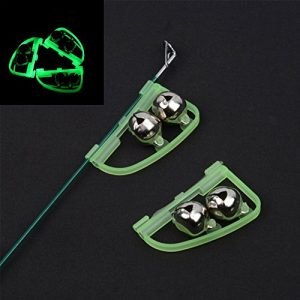 Fishing Tackle Night Alarm with Twin Bells Ring