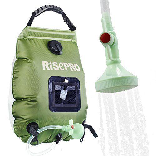 Solar Heating Premium Camping Shower Bag