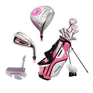 Pink Right Handed M5 Golf Club Set