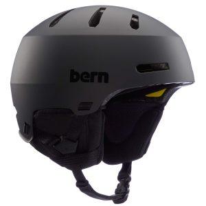 Large Snow Helmet Matte Black