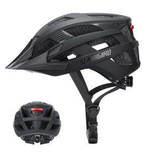 SLANIGIRO Youth Adult Bike Helmet with Light