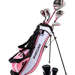 Pink Junior Golf Club Set for Age 9 to 12