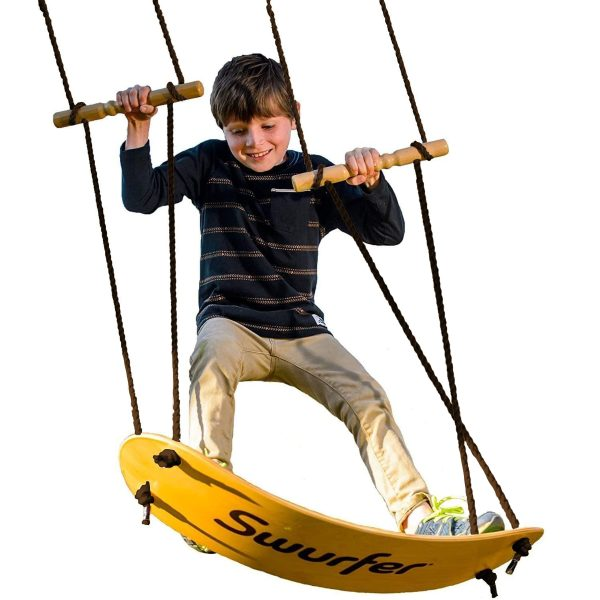 Tree Swing with Skateboard Seat Design