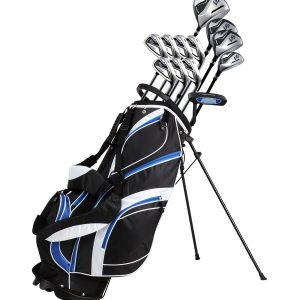 Complete Golf Club Package Set With Titanium Driver