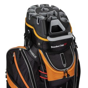 Premium Cart Bag with 14 Way Organizer Divider
