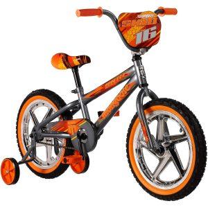 BMX Bike with Training Wheels Mongoose Skid